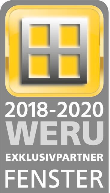 Zertifikat WERU Exklusivpartner Fenster